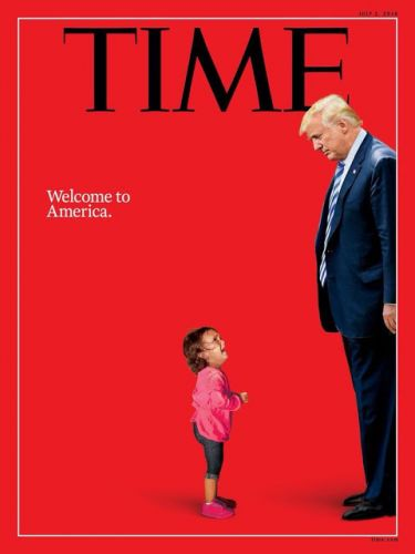Couverture de TIME MAGAZINE