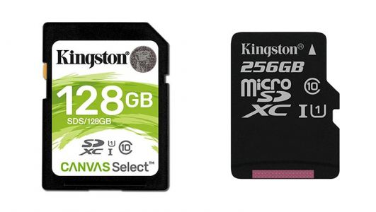 "Kingston Digital annonce sa nouvelle gamme de cartes ""Canvas"""