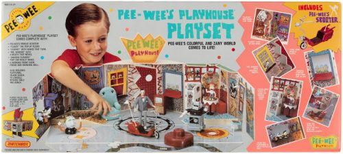 1988 Pee-Wee's Playhouse Playset