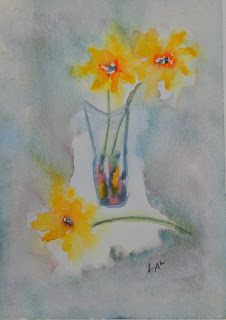 """Simply daffodils"" - Marie-Christine Lalange"