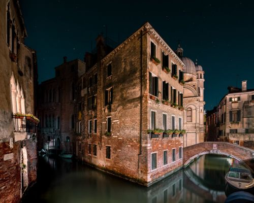 Thibaud Poirier - Venice after dark