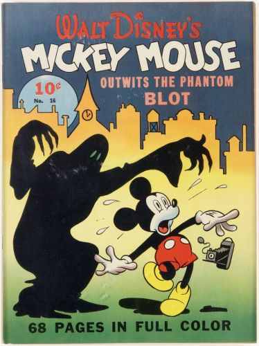Four Color No 16 Mickey Mouse - Dell, 1941