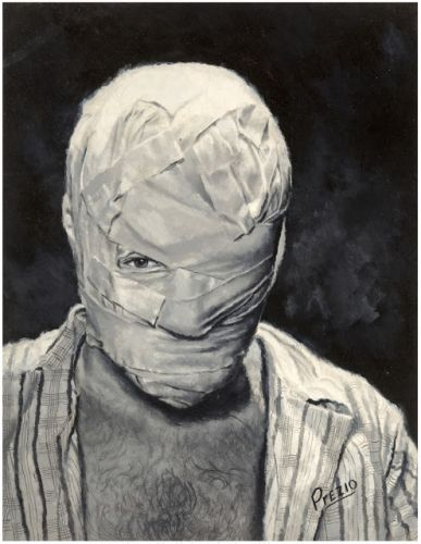 Victor Prezio - Man without a Face, Stag magazine 1952/11