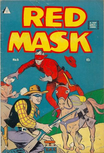 RED MASK No 02 - 1958