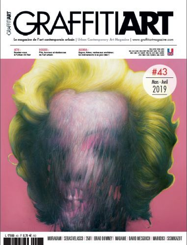 Graffiti Art 43 en kiosques le 13 Mars 2019
