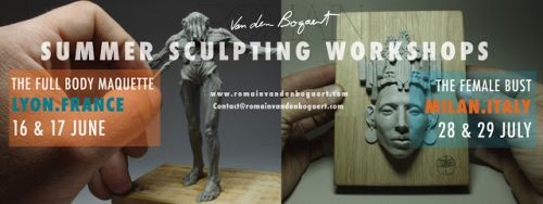 WORKSHOP SCULPTURE EN JUIN A LYON