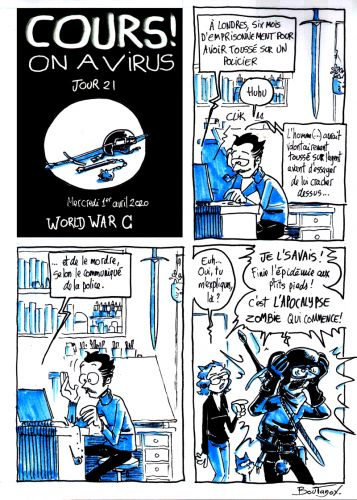 Cours ! On a virus - Jour 21