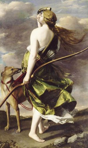 Orazio GENTILESCHI Diana the Huntress