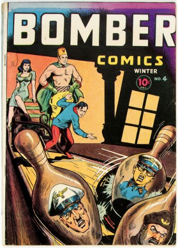 Bomber Comics No 04 - Elliot, 1944