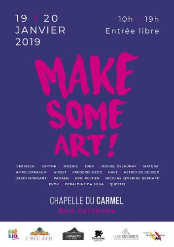 "BOIS-GUILLAUME :  CAPTON INVITÉ D'HONNEUR DE ""MAKE SOME ART"""