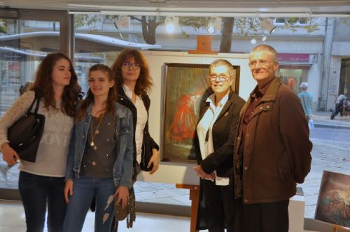 Exposition, vernissage