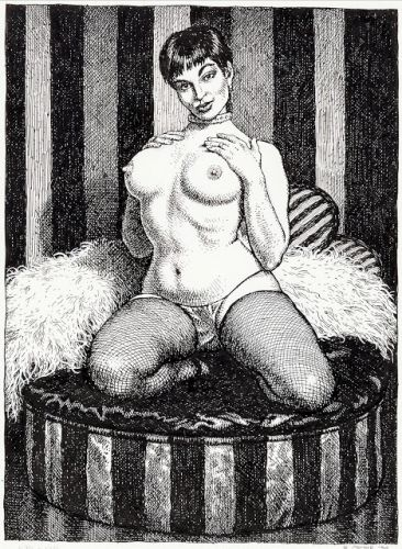 Robert Crumb - Art & Beauty Magazine No 01 Stripper - Kitchen Sink, 1996