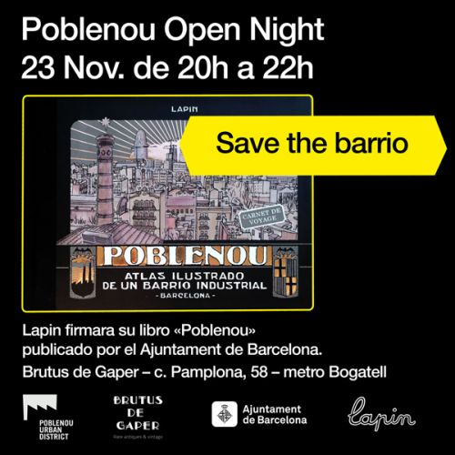 Poblenou open night signature