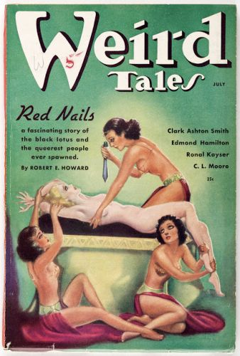Weird Tales - Popular Fiction - juillet 1936