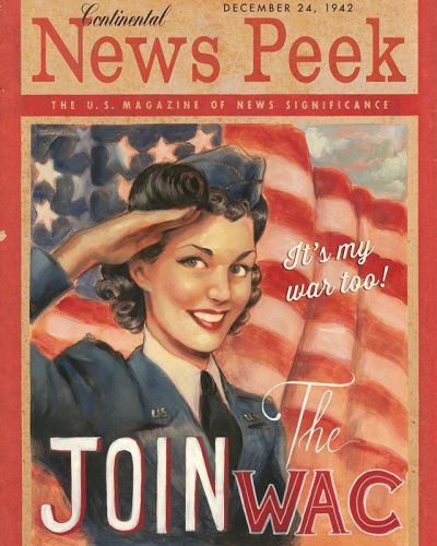 May 8th 1945: it was V Day!!!! The day the allies won over the nazis! Never forget ❤️ . . A magazine cover tributing the famous Newsweek magazine featuring art by me, oil painting on artboard. Featured in my artbook as well! . . . wwii ww2
