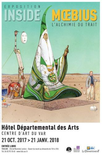 Exposition « Inside Mœbius - L'alchimie du trait »