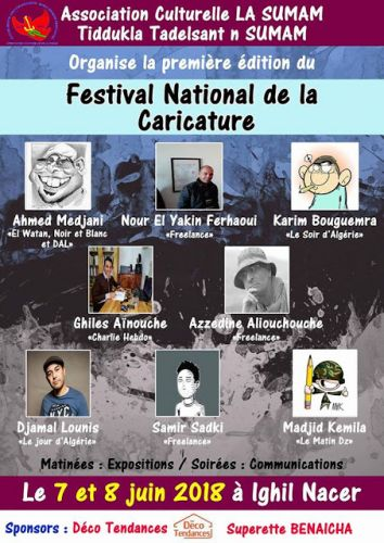 Algérie: Festival national de la caricature