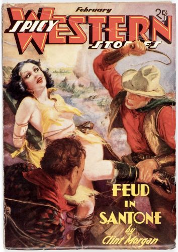 Spicy Western Stories - Culture 1937/02