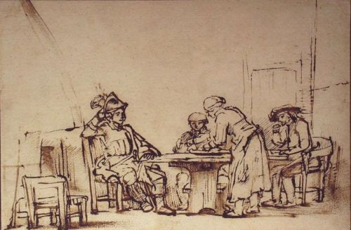 Colloque:  « Dutch Drawings on the Horizon: A Day of Talks in Honor of George S. Abrams »