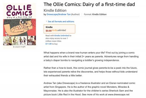 The Ollie Comics - ebook version