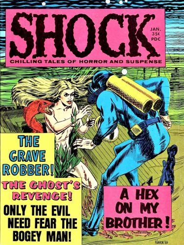 Shock Magazine,1969 - Stanley Publications