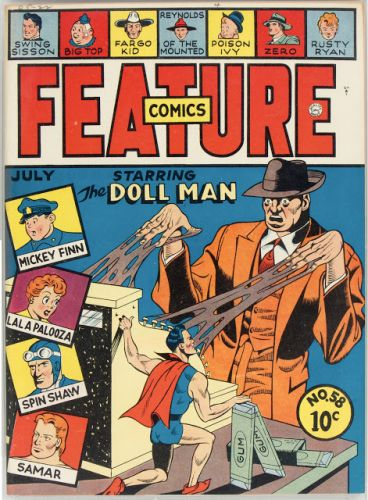 Gil Fox - Feature Comics No 58 - Quality, 1942
