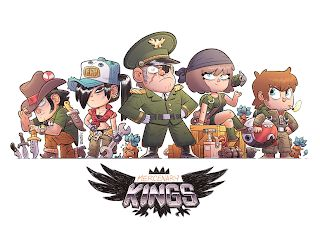 Mercenary KINGS hits Kickstarter!