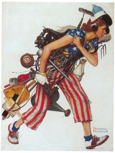 Norman Rockwell - Labor Day