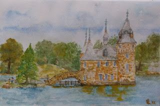"Látó Éva - ""Boldt Castle - Entrance Tower"""