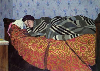 Felix Vallotton - Sleeping Woman