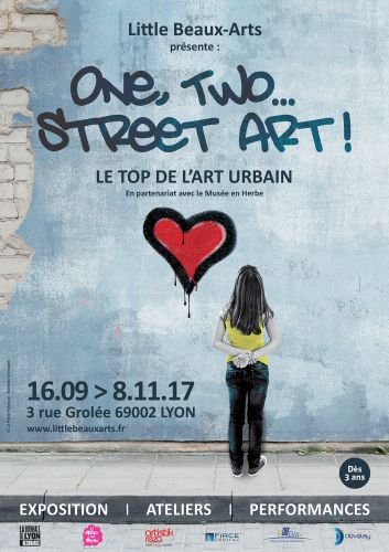 Exposition One, Two, Street art!