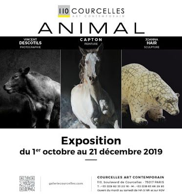 PARIS 17:  CAPTON, VINCENT DESCOTILS ET JOANNA HAIR A LA GALERIE COURCELLES ART CONTEMPORAIN