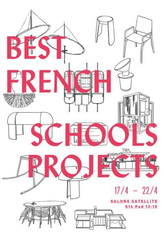 Milan Design Week | Le French Design - Best French Schools Projects par le VIA