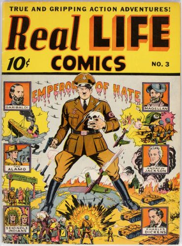 Real Life Comics No 03 - Nedor Publications, 1942