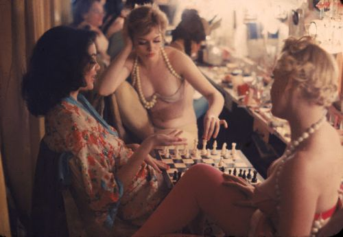 Gordon Parks - Showgirls, New York 1958