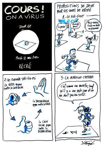 Cours ! On a virus - Jour 62