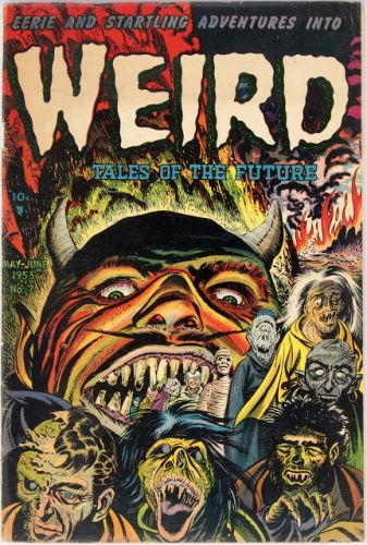 Weird Tales of the Future No 07 - Aragon, 1953