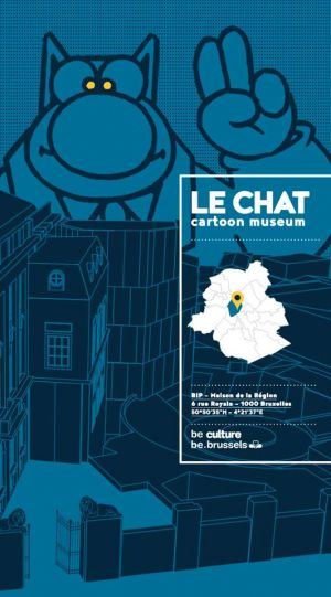 Le Chat Cartoon Museum à Bruxelles
