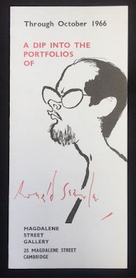 A Dip into the Portfolios of Ronald Searle