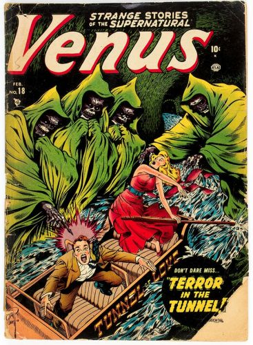 Venus No 18 - Timely, 1952