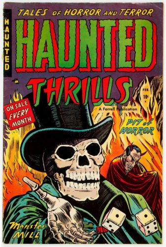 Haunted Thrills No 06 - Farrell, 1953