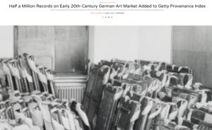 Getty Provenance Index: German auction sales catalogs