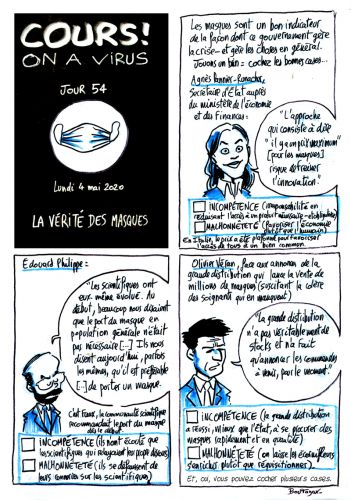 Cours ! On a virus - Jour 54