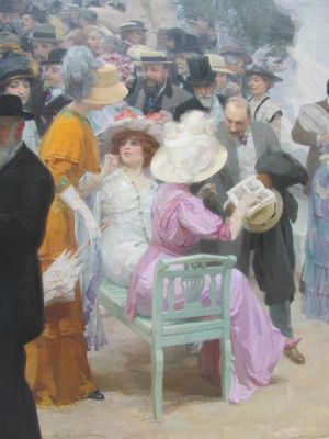 Jules GRÜN Friday at the French Artists' Salon 1911