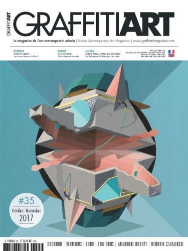 Graffiti Art 35:  en kiosques le 28.09 !