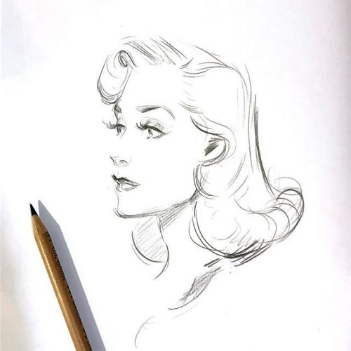 A few pencil strokes of glamour .🌹And Stay tuned darlings! tomorrow i'll launch a GIVEAWAY✨ glamour pencildrawing instaart instasketches sketchbook sketch daily dailysketch sketch dailydose classichollywood vintageinspired vintagehairstyle