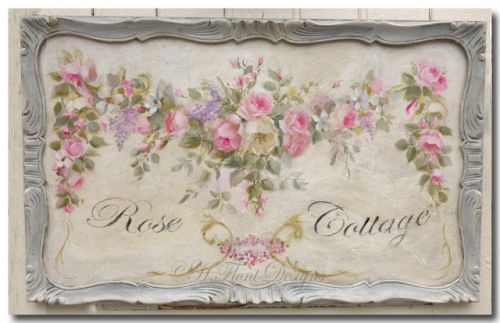 Rose swag , 18 century ornament style