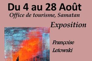 Samatan. Vernissage à l'office de tourisme du Savès