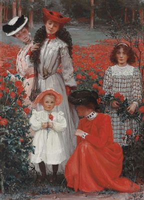 Albert HERTER - A Family Group 1898