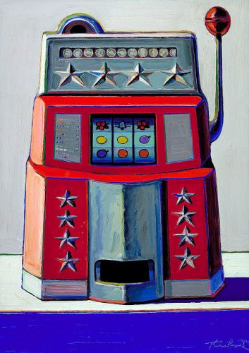 Wayne Thiebaud - Machine à sous